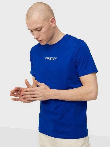 Jack & Jones Jorelias Tee Ss Crew Neck Small Ka T-shirts & undertrøjer Surf the Web Reg