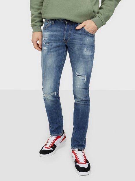 Jack & Jones Jjiglenn Jjfox Ge 740 Noos Jeans Blue Denim