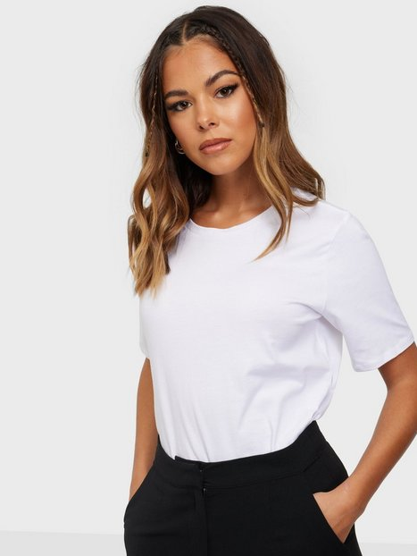 Only Onlonly Life S/S Top Jrs Noos T-shirts White