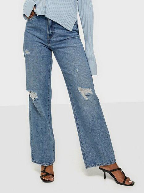 Only Onlmolly Hw Wide Vin Dnm Jeans Bj