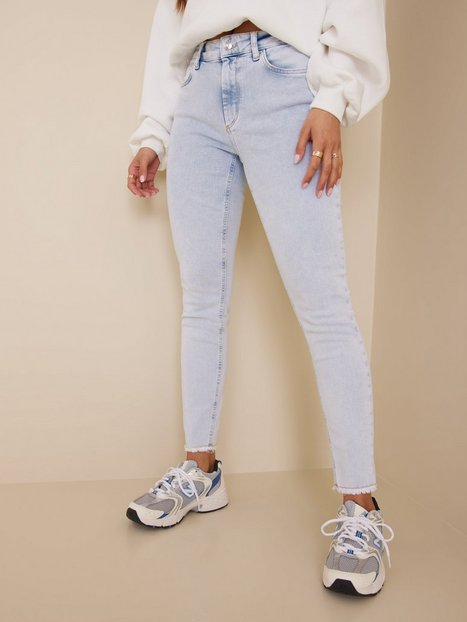 Only Onlblush Life Mid Sk Raw Ak REA298 Skinny fit