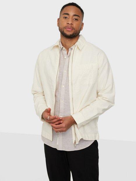 Selected Homme Slhloosedayton Shirtjacket Ls Zip W Skjorter Egret