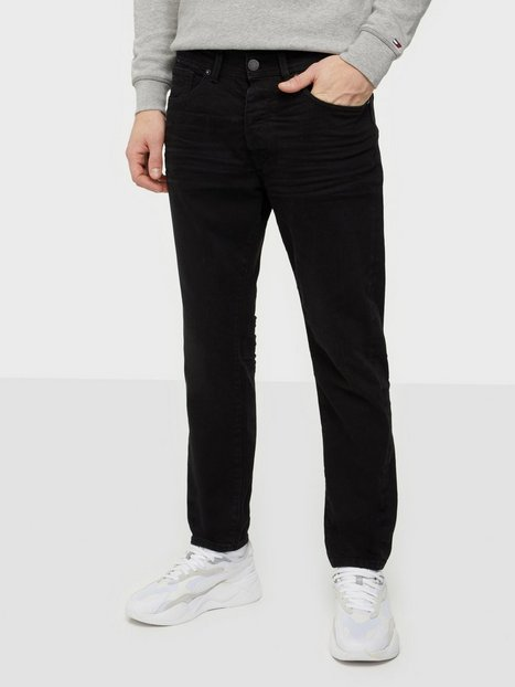 Selected Homme Slhrelaxcrop-Aldo 4003 W. Black St Jeans Black Denim