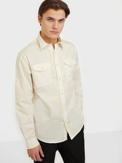 Selected Homme Slhregriver Shirt Ls W Skjorter Egret