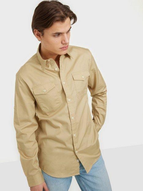 Selected Homme Slhregriver Shirt Ls W Skjorter Safari
