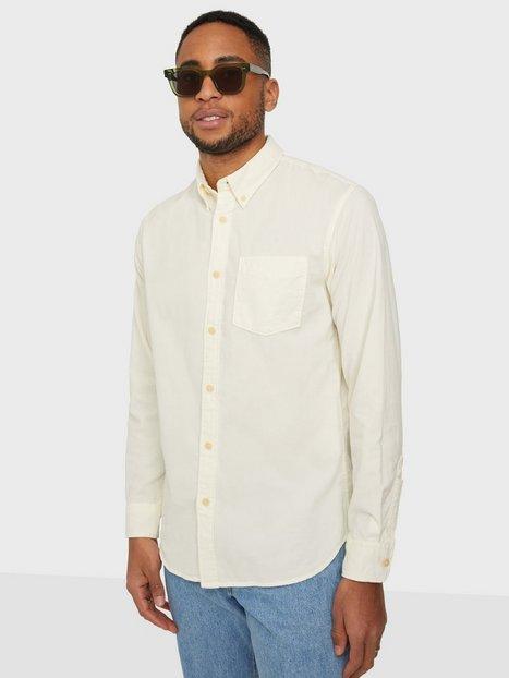 Selected Homme Slhslimoscar Shirt Ls Cord W Skjorter Egret