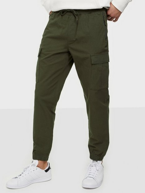 Selected Homme Slhslimtapered-Noah Ribstop Pants W Bukser Forest Night
