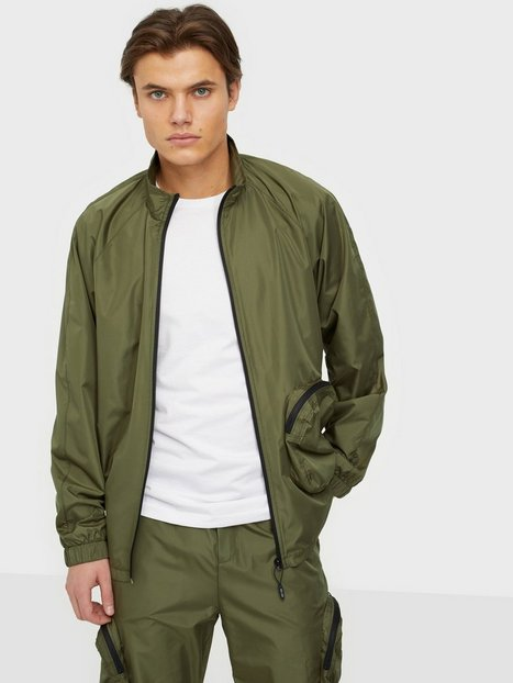 Only & Sons Onsbenton Reg Full Zip Sweat Trøjer Olive Night