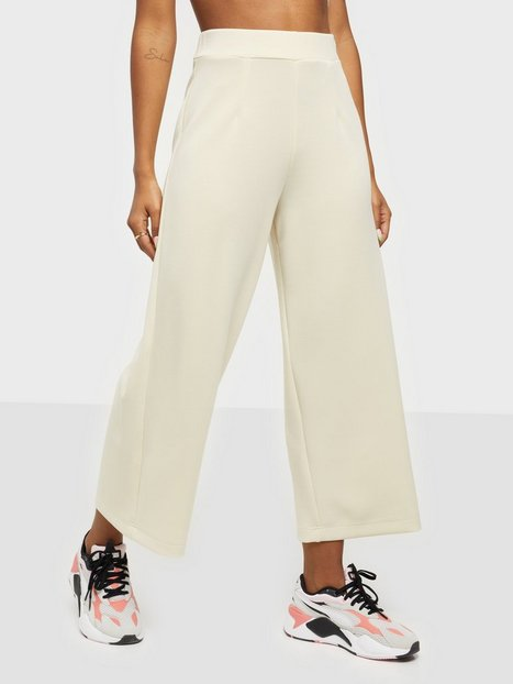 Selected Femme Slftenny Mw Cropped Wide Pant B Bukser