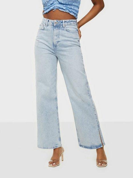 Pieces Pcsui Mini Wide Hw Ank Jeans Lb-Ba