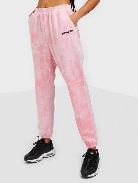 Sixth June Tie Dye Jogging Joggingbukser Pink
