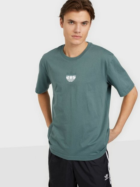 Adidas Originals 3D Tf Om Tee T-shirts & undertrøjer Haze