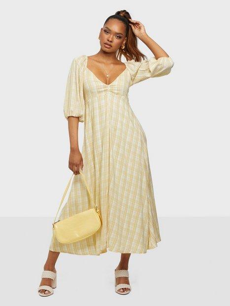 Faithfull the Brand Imanie Midi Dress Loose fit dresses