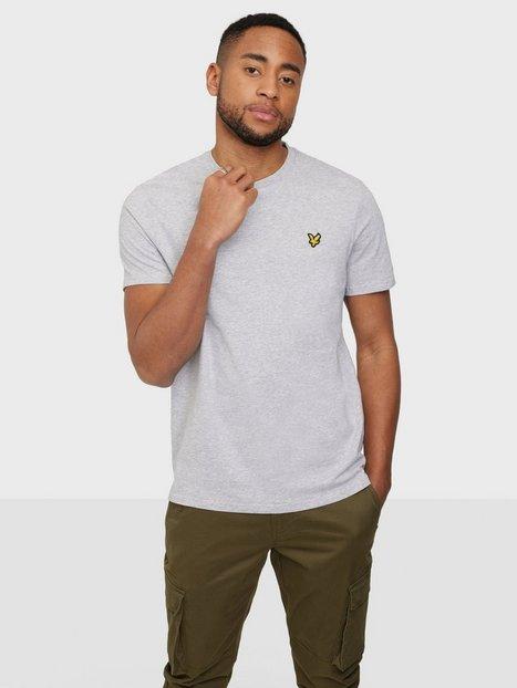 Lyle & Scott Plain T-Shirt T-shirts & undertrøjer Light Grey