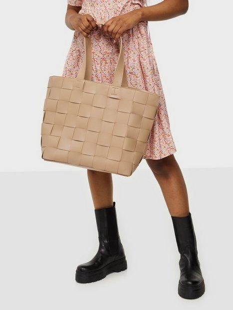 NLY Accessories Braided Shopper Bag Håndtasker