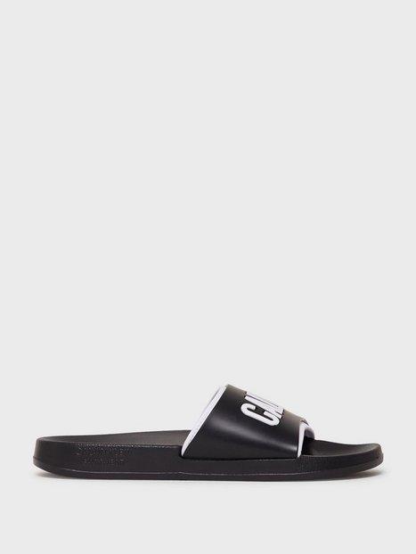 Calvin Klein Underwear Slide Sandaler & klip klappere Black