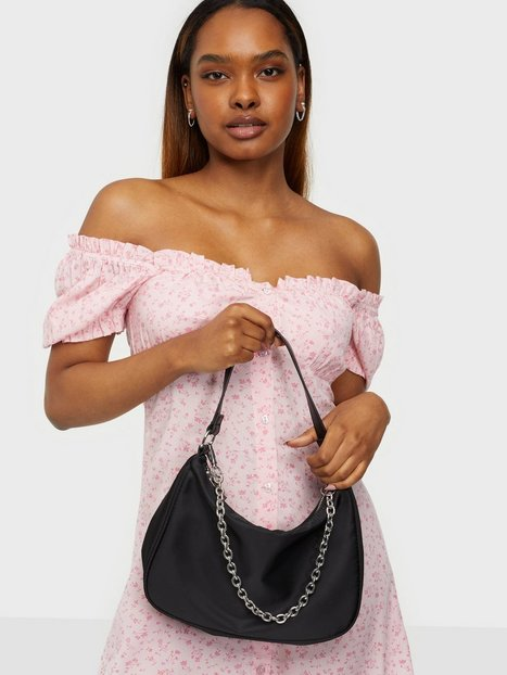 NLY Accessories Candy Chain Bag Skuldertasker Sort