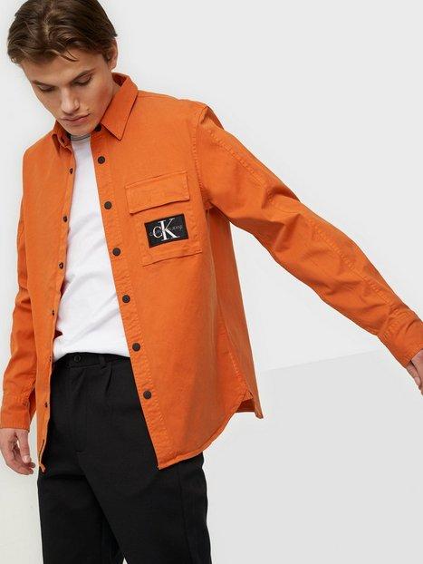 Calvin Klein Jeans Gmd Shirt Skjorter Orange