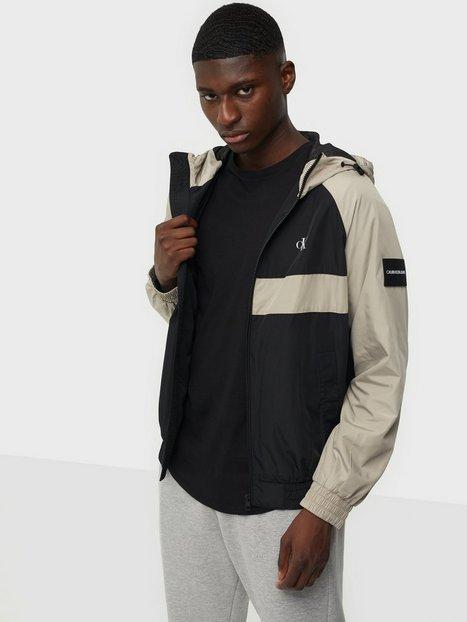 Calvin Klein Jeans Blocked Zip Through Jacket Jakker & frakker Black