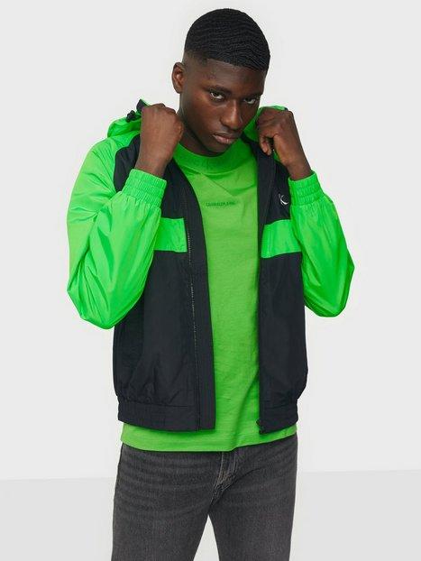 Calvin Klein Jeans Blocked Zip Through Jacket Jakker & frakker Green