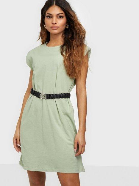Only Onlpernille Shoulder Dress Jrs Loose fit dresses Desert Sage
