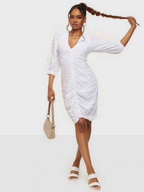 Object Collectors Item Objgerda 3/4 Dress 114 Skater kjoler Bright White