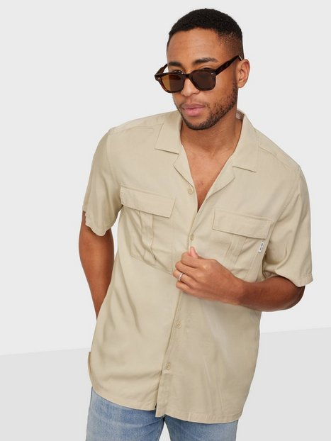 Only & Sons Onsscottie Life Ss Utility Relaxed Skjorter Pelican