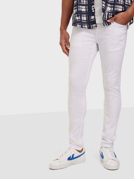 Only & Sons Onswarp Life Crop White Pk 0004 Jeans White Denim