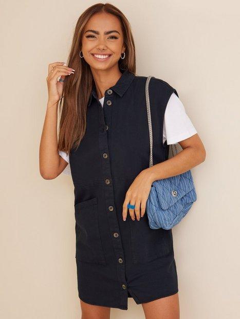 Noisy May Nmalma Capsleeve Dress Noos Loose fit dresses Black