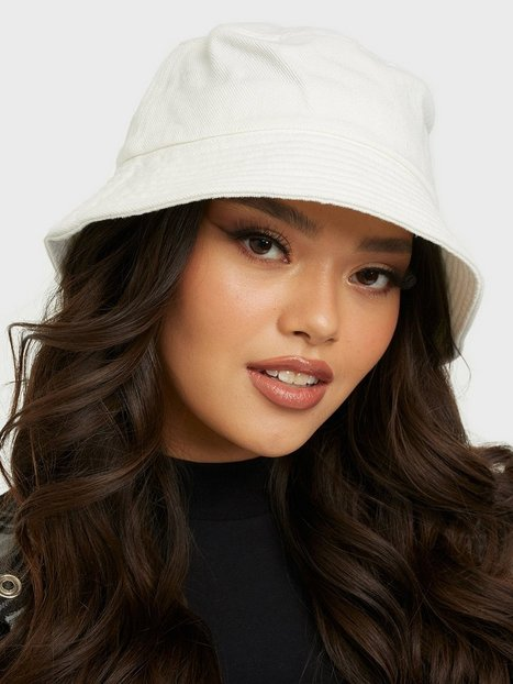 Vero Moda Vmilla Denim Bucket Hat Hatte White