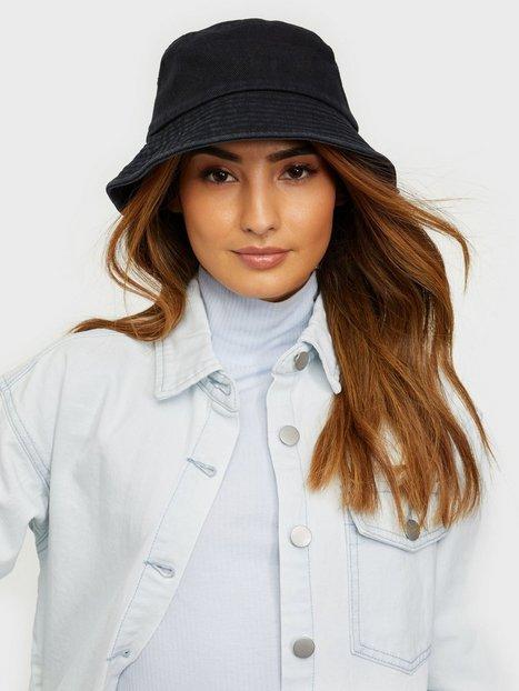 Vero Moda Vmilla Denim Bucket Hat Beanies, Scarves & Gloves Black