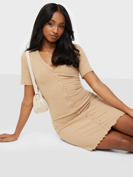 Vero Moda Vmaria Ss Short Button Dress Jrs Lc Tætsiddende kjoler Nomad