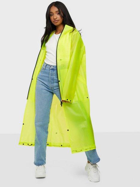 KRAKATAU Welded Transformable Raincoat Regnjakker Yellow