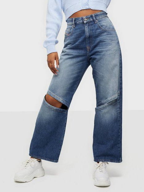 Diesel D-Reggy-T-SP2 Trousers High waisted jeans