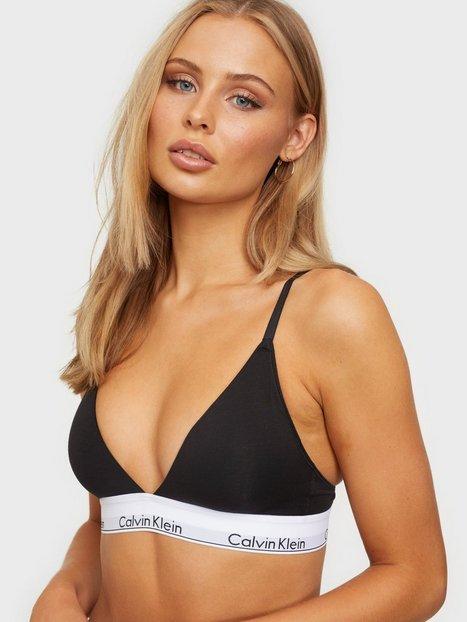 Calvin Klein Underwear LL Triangle Bandeau & Soft-Bra Black