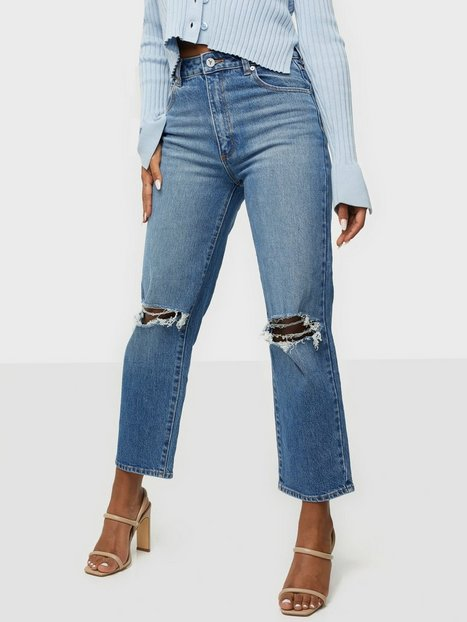 Abrand Jeans A Venice Straight Vanessa Rip Straight fit
