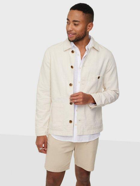 Selected Homme Slhwinsted Blazer Jacket W Skjorter Bone White