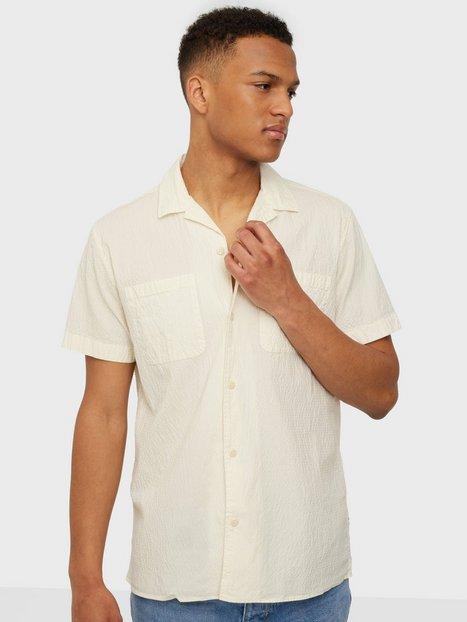 Selected Homme Slhregdeclan Shirt Ss W Skjorter Egret