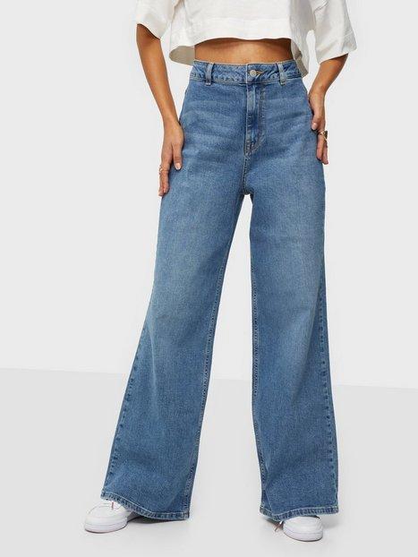 Selected Femme Slfasly Hw Wide Jeans U High waisted jeans