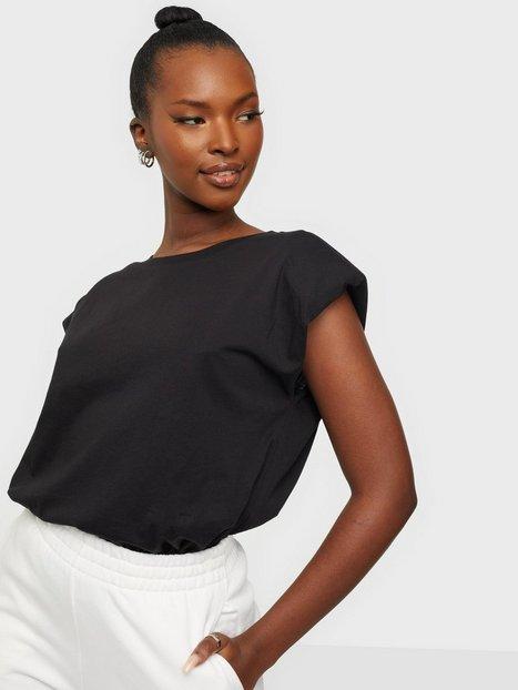 Only Onlpernille Shoulder T-Shirt Jrs Hverdagsbluser Black