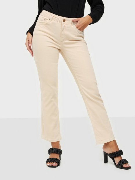 Pieces Pcdelly Mw Kick Flared Colour Jeans