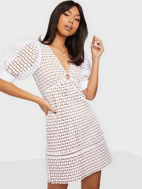 Michael Michael Kors Geo Eyelet Mini Dress Skater kjoler