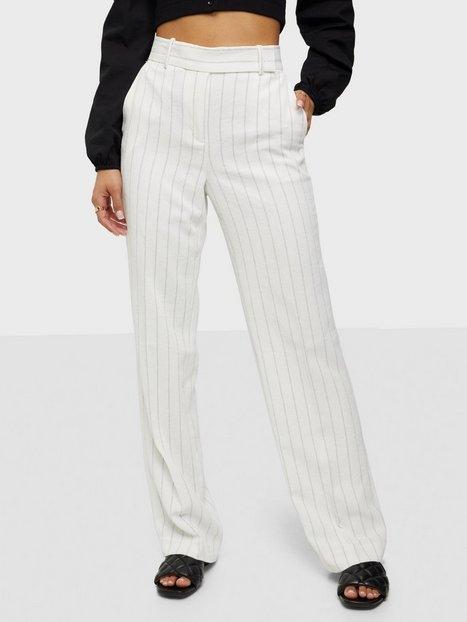 Michael Michael Kors Stripe Straight Leg Pant Bukser