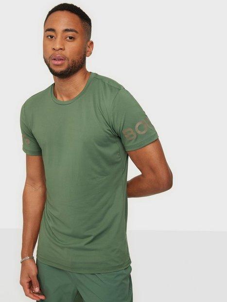 Björn Borg Borg Tee Trænings t-shirts Green