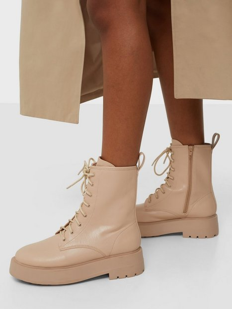 NLY Shoes Perfect Laced up boot Boots