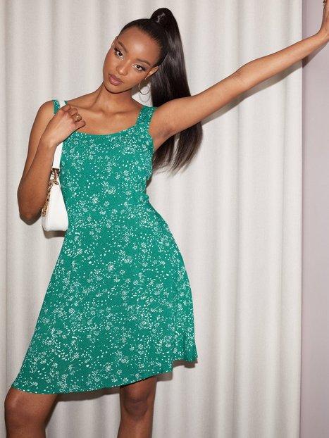 Jacqueline de Yong Jdystaar Life S/L Strap Dress Wvn Skater kjoler