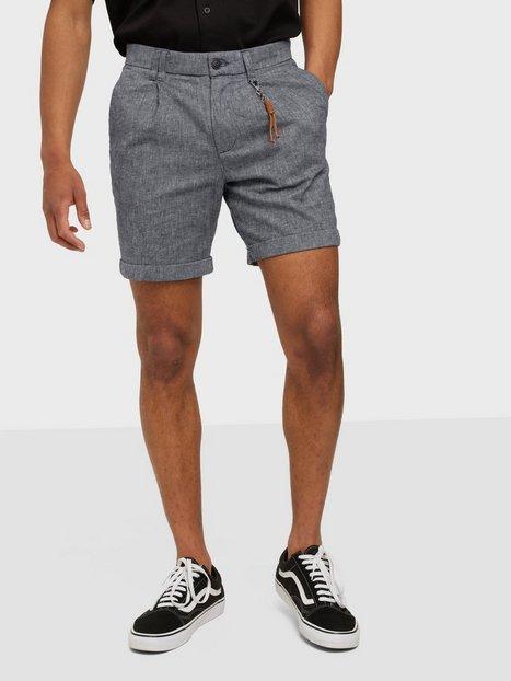 Jack & Jones Jjimilton Jjchino Shorts Akm Linen Shorts Navy Blazer