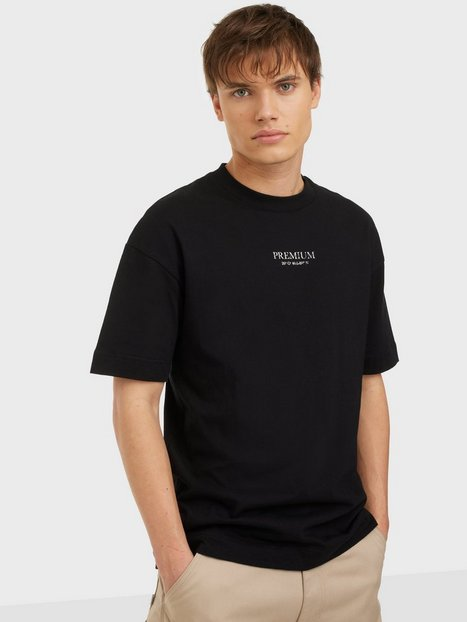 Jack & Jones Jprblageo Box Fit Ss Tee T-shirts & undertrøjer Black Box Fit