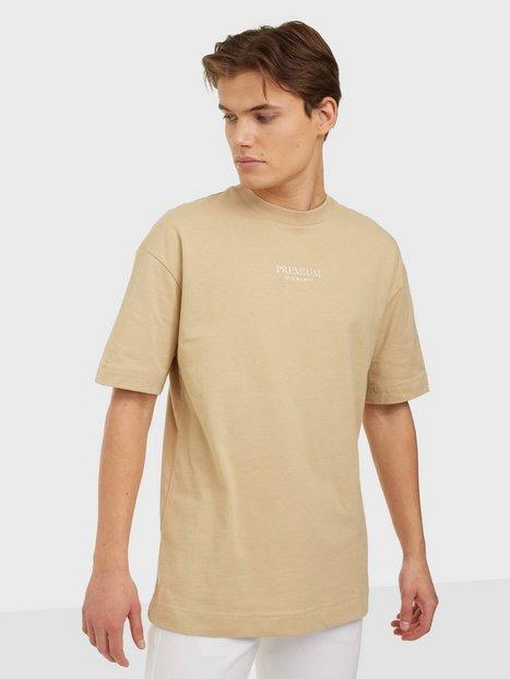Jack & Jones Jprblageo Box Fit Ss Tee T-shirts & undertrøjer White Pepper Box Fit