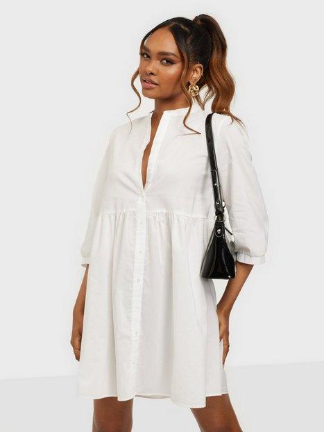 Vero Moda Vmsisi 3/4 Dress Noos Loose fit dresses Snow White